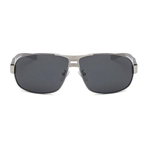 de Gafas Gafas Sol Regalos Color Axiba I polarizadas Shing Doble creativos Sol Cepillado de Hombre clásicas 5Enqa