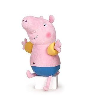 Peppa Pig - George con Manguitos 46cm - Calidad super soft - Peluche - Ouast