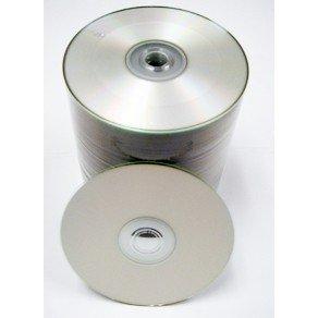 300pcs Gigablock CD-R 52x 700MB 80Min Silver Inkjet Hub Printable top