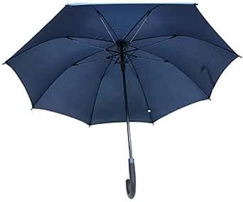 Sun and Rain Stopper Straight Automatic Open Windproof Umbrella Dia Size - 110cm