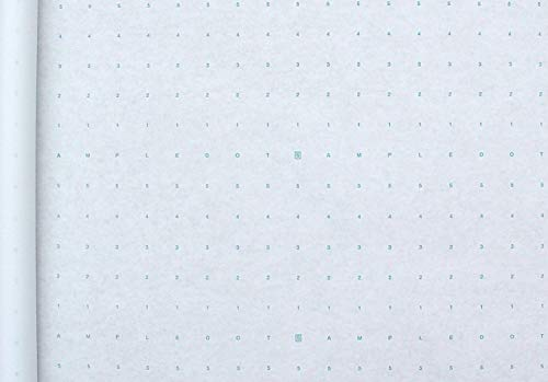 Alpha Numeric Dotted Marking Paper