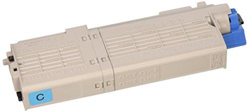 - OKI 46490603 High Capacity Cyan Toner Cartridge for C532, MC573