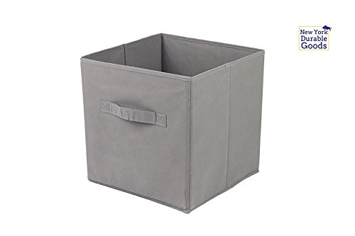 [6-Pack,Gray] Foldable Storage Cubes With Dual Handle