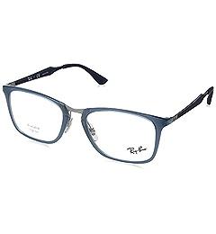 4af9581b44 Amazon.com  Ray-Ban Men s RX7131 Eyeglasses Havana 53mm  Clothing