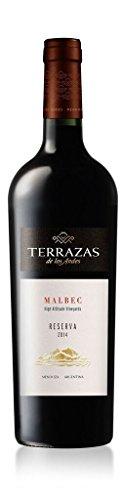 2014 Terrazas Malbec Reserva, Argentina 750 mL Wine
