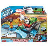 (Thomas and Friends Harolds High Flying Rescue Set Track Master by Fisher-Price )