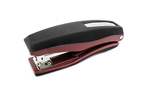UPC 696859046681, PraxxisPro Basileus Heavy Duty Metal Stapler Value Pack with 25 Sheet Capacity - Includes Staples and Staple Remover - Jam Free Stapler Set for Professional and Home Office Use (Merlot)