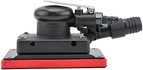 エアツール ハンドツール 掃除機ハンドツールで長方形空気圧サンドペーパーマシン、 エア工具 ポータブル