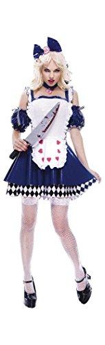 Wicked Wonderland Alice Adult Costume - Large