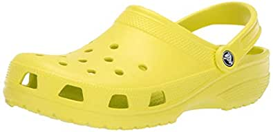 Crocs Kid's Classic Clog 10006,Citrus,M3W5 Little Kid Yellow