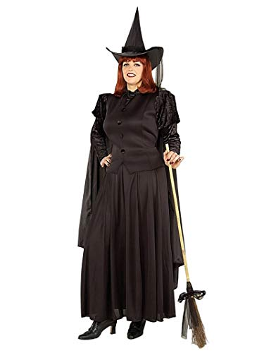 Good Halloween Costumes For 3 Friends (Forum Novelties Women's Wild N' Witchy Classic Witch Costume, Black,)