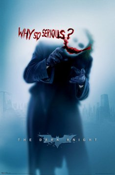 Image result for the dark knight why so serious poster