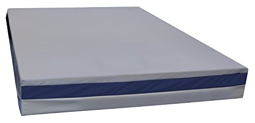 North America Mattress – Urine Resistant Mattress – Full-Sized Bed-Wetting Mattress – Soft Vinyl Waterproof Cover – Easy to Clean – Medical Quality Fabric – Durable Cover – CertiPUR-US Certified Foam