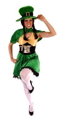 Ladies Fancy Dress Costume Leprechaun G11128 Irish St Patricks Day by (Irish Fancy Dress Costumes)