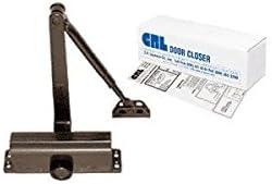 CRL DC51 Bronze ANSI Grade 1 Finish Size 1 Light Duty Surface Mount Door Closer