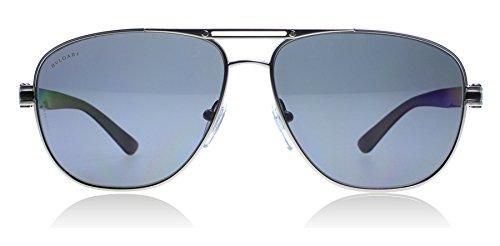Bvlgari 5033 195/81 Matte Gunmetal 5033 Aviator Sunglasses - Bvlgari Mens Sunglasses