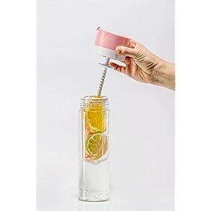 Pressa Bottle // Tritan Plastic Carafe - Pink - 24 Oz