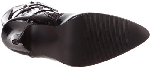 Pleaser Seduce-3028 - Botas Mujer Negro (Negro (Blk Str Pat))