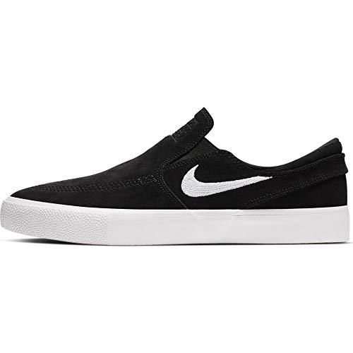 Nike SB Zoom Stefan Janoski Slip RM Men's Shoes - AT8899 (11.5 M US, Black/White-White)