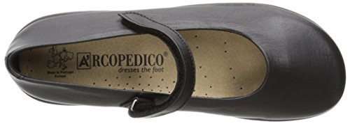 7151 Shoes Negro Womens Scala Arcopedico Leather 5zw4OqqI
