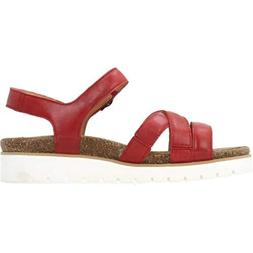 Rojo Mujer red Mujer Marca Steve Modelo Mephisto Cordones Para 2601 Thina Zapatos Rojo Color Mephisto De ZAzXqqpU
