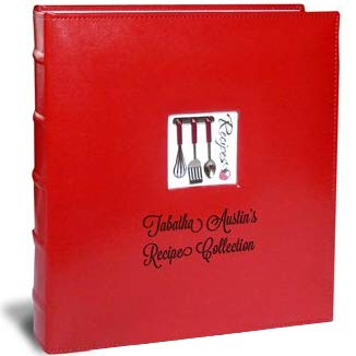 Personalized Recipe Binder Organizer by Cookbook People - Full Page (A La Carte, Full Page)