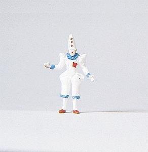 Preiser 29038 Individual Figure Circus People Clown HO Scale Figure