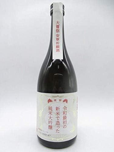 渡辺酒造店 蓬莱 令和最初の新米で仕込んだ 純米大吟醸 720ml