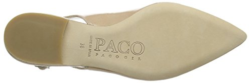 Paco Gil P2860 - Bailarinas Mujer Beige