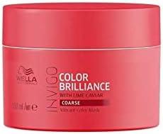 Wella Invigo Brilliance Tratamiento para cabello de color grueso, 150 ml