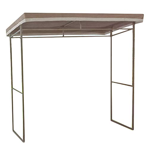 (Garden Winds Flat Roof Grill Gazebo Replacement Canopy Top Cover - RipLock 350)