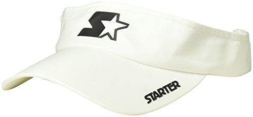 Starter Women's Performance Visor, Prime Exclusive, White, One Size