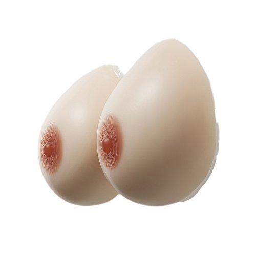 Jolie Transgenres Mammaires Seins En De Auto Formes Crossdresser Pour Silicone cup D adhésif Prothèses Mastectomie rwqrBSPx