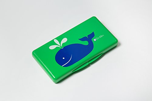Uber Mom Whale Wipe Box, Green