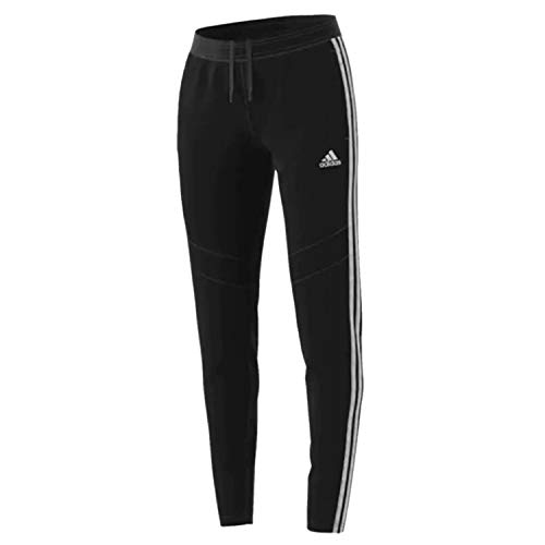 adidas Women's Tiro19 Training Pants, Black/White, Small