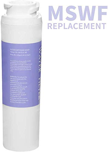 MSWF Refrigerators Water Filter Replacement for GE Water Filter,1 Pack