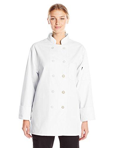 Dickies Chef Women's Classic Coat, White, ()