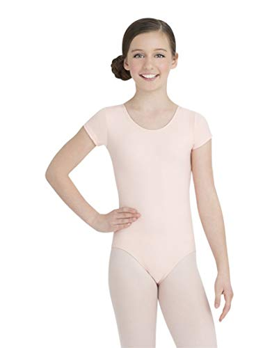 Capezio Little Girls' Team Basic Short Sleeve Leotard,Ballet for sale  Delivered anywhere in USA