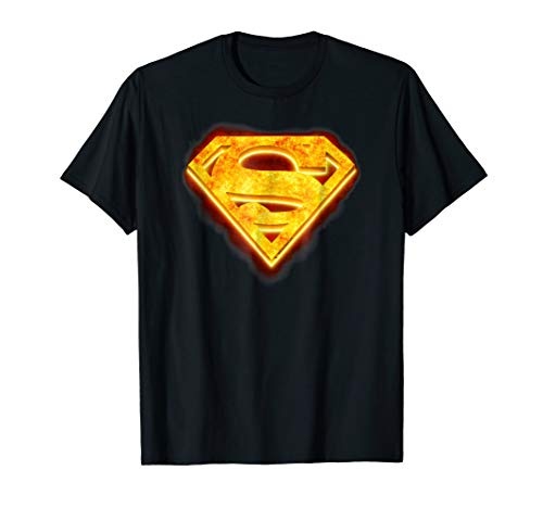 Superman Hot Steel Shield T Shirt]()