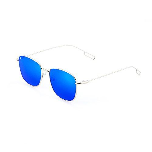 Gafas degradadas TANNING espejo Azul de sol TWIG Plata hombre mujer XqwXrU