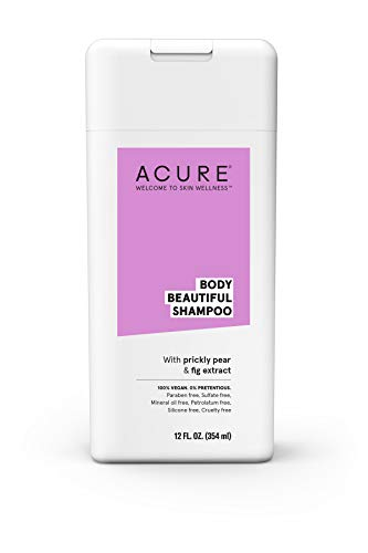 ACURE Body Beautiful Shampoo, Pear & Fig, 12 Fl. Oz. (Packaging May Vary)