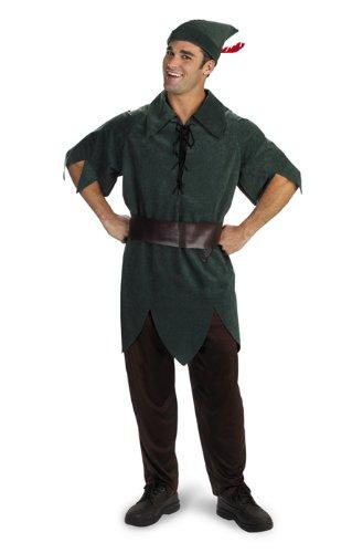 Disney Adult Peter Pan Costume X-Large (42-46), ()