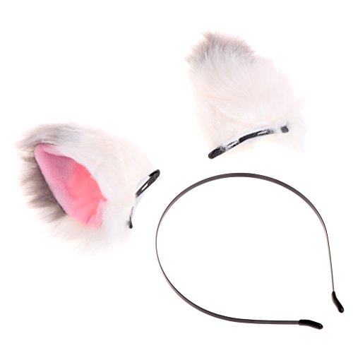 cici store Lovely Cat Ears Cosplay Costume - Party Girls Hair Band Clip Headband (#7)