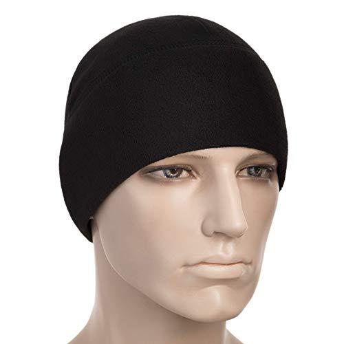 M-Tac Watch Cap Fleece 260 Mens Winter Hat Military Tactical Skull Beanie (Medium, Black)