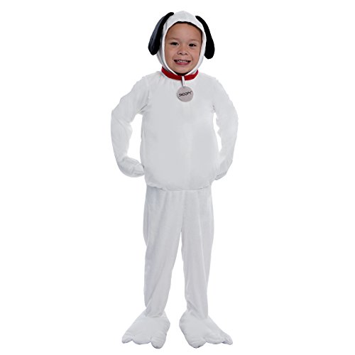 Peanuts: Snoopy Deluxe Kids Costume - Peanuts Snoopy Deluxe Kids Costumes