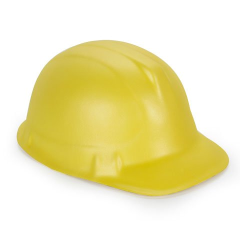 Yellow Foam Construction Hat (Better Crafts FOAM CONSTRUCTION HAT YELLOW (6 pack) (0106-69140))
