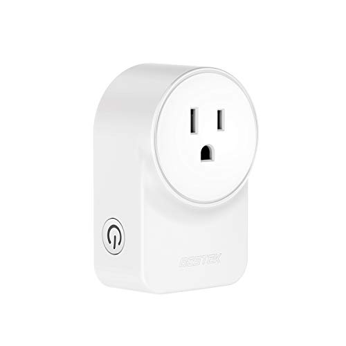 Smart Plug, BESTEK Wi-Fi Enabled Mini Outlet with 2 USB Ports, Compatible with Alexa, Google Home and IFTTT, No Hub Required, App Remote Control Anywhere, ETL FCC Listed, 10A 1250W Max