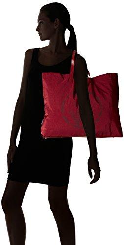 Armani Jeans Damen 922552CC861 Shopper, 55x40x9 cm Rot (Bordeaux 00176)