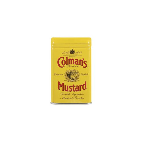 Colman's Colman's Dry Mustard (Economy Case Pack) 2 Oz Tin (Pack of 12)