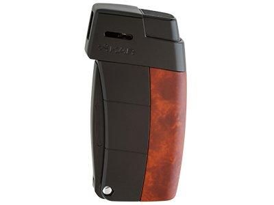 Xikar 9689BR Resource II Lighter W/Pipe Tools in Brown